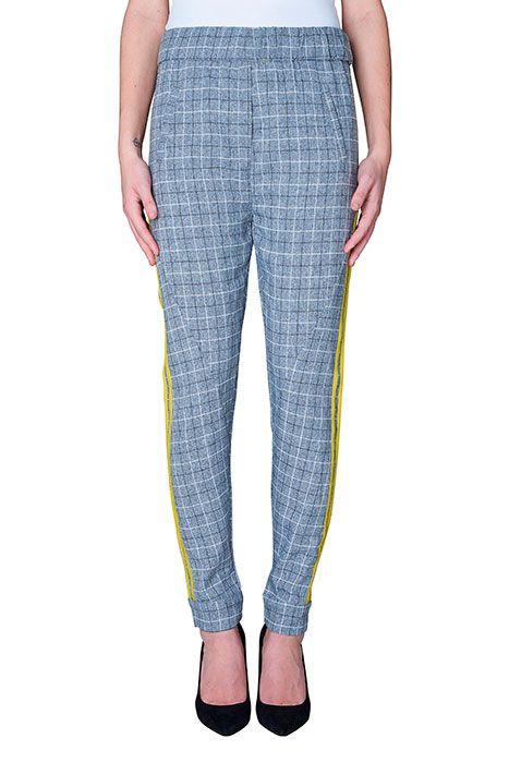Pantalon-MILEY-sporty-check-