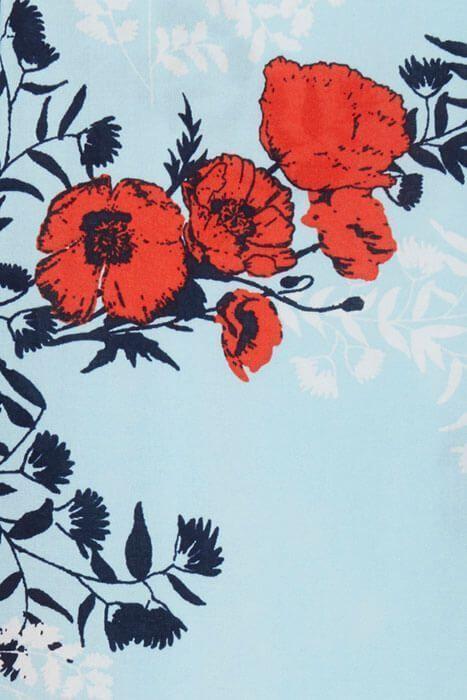 Pantalon-CLOSSA-azul-flores-ichi-2